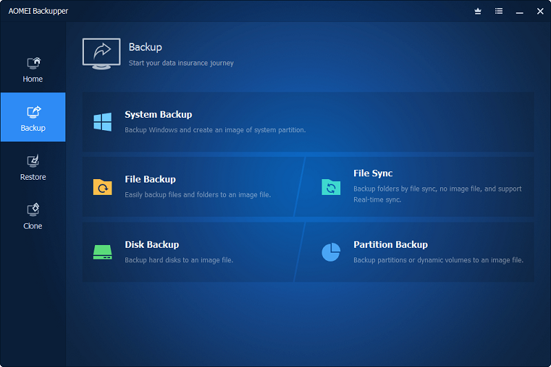 AOMEI Backupper All Editions 6.6.0+ Crack Activation Key Download
